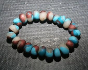 Homemade Polymer Clay Bracelet