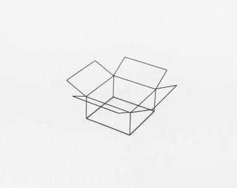 Open Cube - Handmade Wireframe Decor - JY DesignLab