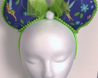 Tinkerbell Custom Handmade Ears