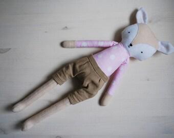Handmade cat, 38cm