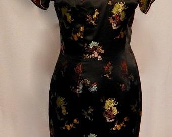 1960's cheongsam dress