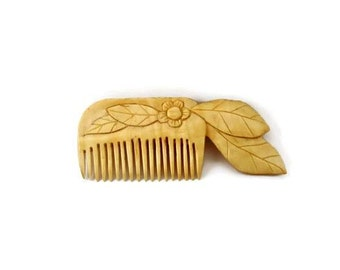 Womens gift Mother day gift for her Wooden hair comb Moms gift Wife gift Present for her Sister gift Girlfriend gift Grandma gift Hair care