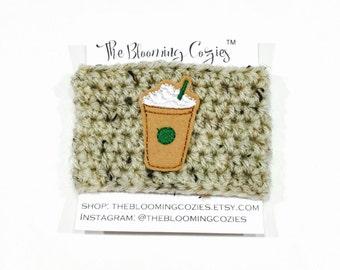 Coffee Cup Cozy - Coffee Cozy - Coffee Sleeve - Cup Sleeve - Eco Friendly - Crochet Cozy - Starbucks Coffee - Fall Pumpkin - Cozies