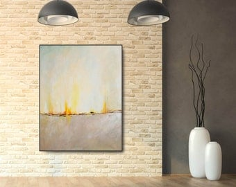 Original Abstract Painting, Contemporary Wall Art, Modern Acrylic Painting on Canvas. In Stock, Free Shipping
