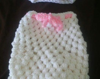 Lazy Little Lamb Swaddle Cover/Cocoon