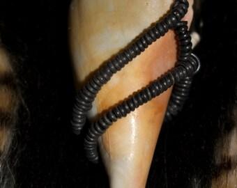 sea shell hand wrapped.