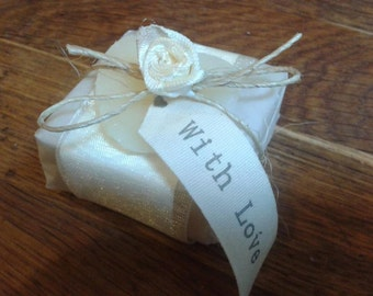 Handmade Wedding Soap Favour