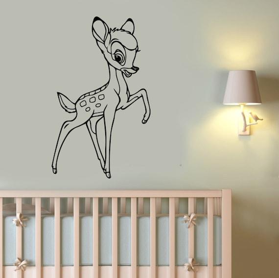 bambi wall sticker removable vinyl decal deer art disney bambi wall sticker wall art com