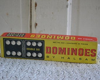 Dominoes by Halsam Set No 623