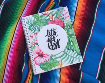 Let's Get Lost- Aloha Print