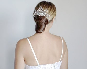 Wedding hair comb.Silver Bridal hair comb.Wedding Hair Accessories.Bridal comb.Wedding hair comb/ Bridal Headpiece