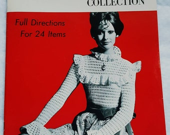 1970s Crochet Collection Pattern Book in New Condition! ReTrO does Vintage