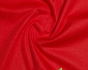 Eco-Friendly ProSoft Waterproof 1 mil PUL Fabric (Red, sold by the yard)