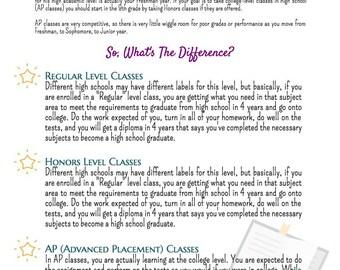 Choosing High School Classes