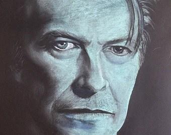 David Bowie Blue