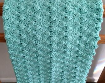 Knit Popcorn Stitch Baby Blanket Pattern : Popcorn baby blanket Etsy