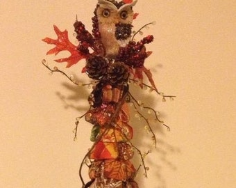 Fall ribbon Tree