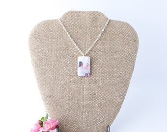 Resin Photo Jewelry, Resin Photo pendants, Resin Charms, Resin Necklace, Photo Necklace