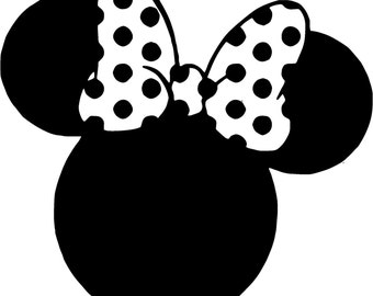 Mouse Ears with Bow SVG