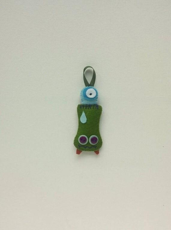 Felt Monster ornament