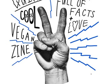 Pack of Vegan Zines - V for Vegan