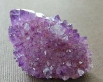 Amethyst Cactus Spirit Quartz Tips Spears Rod Healing Crystal Drusy Druzy