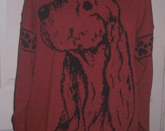 Custom Knit Irish Setter Sweater ****Create your own sweater see below*****