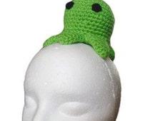 Triboniophorus Tyrannus, brain slug (crochet PATTERN)
