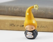 Miniature Gnome- Smile, Cheer Up, Thinking of You, Illness