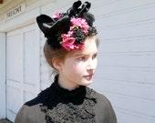Victorian Fascinator Hat