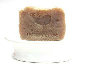 Tea Tree Soap, Oatmeal Soap, Handmade Soap, All Natural Soap, Essential Oil Soap, No Dye Soap, Old Fashioned Soap, Exfoliating Soap