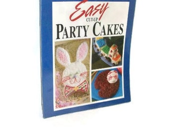 Vintage Baker's Easy Cut-Up Party Cakes Instruction Book