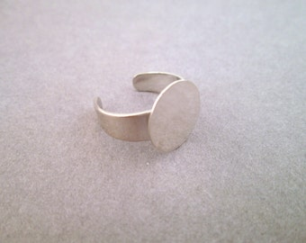 Children's Ring Blanks with a 12mm Glue Pad, A366