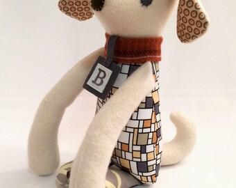 Bennett the Labrador / Dog Doll / Labrador Retriever Plushie / Stuffed Toy / Yellow Lab Doll