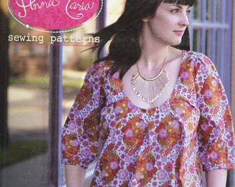 Anna Maria Horner Roundabout Dress Sewing Pattern