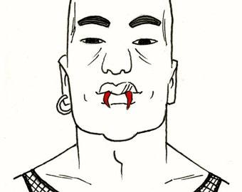 Inktober: Julio the Vampire