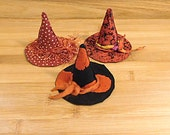 Witch Hat Ornament Bowl Filler Halloween Decorations