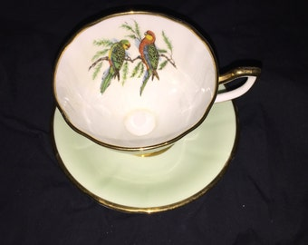 Vintage Taylor and Kent Bone China Tea Cup