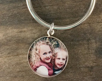 Fathers Day, Father's Day, Fathers Day Gift, First Fathers Day, Personalized Fathers day Gift, Fathers Day Photo Keychain