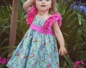 Special Occasion Party Dress, Sophia, sizes 1 to 6