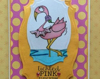 832 TuTu Flamingo Digi Stamp
