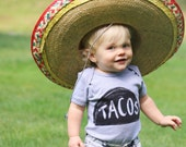 Taco Baby Onesie, newborn bodysuit, unique baby gift, new dad gift, baby shower gift for mom, baby gift for women, taco tuesday one piece