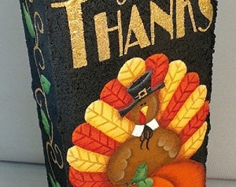 E16005 Give Thanks! Pattern Packet from Oil Creek Originals