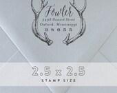 Return Address Stamp No. 3