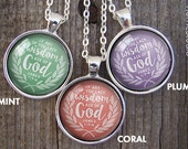 Necklaces : (Wisdom Laurel) 2017 mutual theme, new beginnings ideas, young women, mormon, yw in excellence, bible verse, christian jewelry