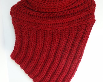 Crossbody Cowl - Ready to Ship Huntress Shawl - Katniss Sweater