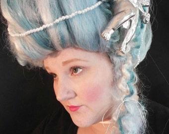 Light Blue Marie Antoinette Wig  free shipping