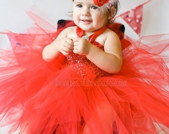 Red Tutu Baby DressRed DressTutu Dresses
