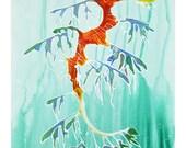 Leafy Sea Dragon Watercol...