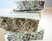 BLACK FRIDAY SALE Soap- Lavender Patchouli Handmade Soap made w/real Lavender, Patchouli and Herbs- Soap Gift